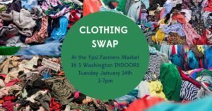 Clothing Swap @ Robert C. Barnes St. MarketPlace Hall