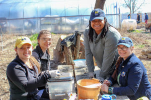 First Volunteer Day on the Farm @ Growing Hope Urban Farm
