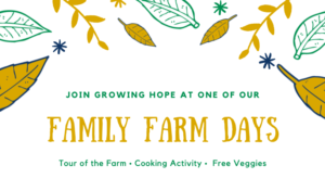 Family Farm Days @ Growing Hope Urban Farm